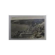 BALCIC - VEDERE GENERALA , FOTOGRAFIE TIP CARTE POSTALA , MONOCROMA,  CIRCULATA , DATATA 1927