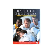 BAND OF THE BROTHERS  -  A CELEBRATION OF THE ENGLAND RUGBY UNION SQUAD by FRANK KEATING , photographs by JON NICHOLSON , 1996