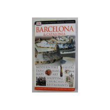 BARCELONA and CATALONIA , EYEWITNESS TRAVEL GUIDES , by ROGER WILLIAMS , 1999
