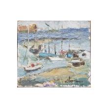 Barci in port - Semnat indescifrabil