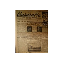 BASARABIA, ZIARUL NOUEI VIETI ROMANESTI, ANUL 1, NR 6, LUNI 28 IULIE 1941