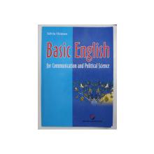 BASIC ENGLISH - FOR COMMUNICATION AND POLITICAL SCIENCE de SILVIA OSMAN, 2011