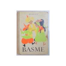 BASME de WILHELM HAUFF , ILUSTRATII de V. STURMER , 1960