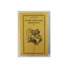 BASME POPULARE ROMANESTI de S. FL. MARIAN , VOLUMUL II , editie ingrijita de PAUL LEU , 1997