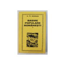 BASME POPULARE ROMANESTI de S. FL. MARIAN , VOLUMUL IV - SNOAVE DIN BUCOVINA  , editie ingrijita de PAUL LEU , 1997