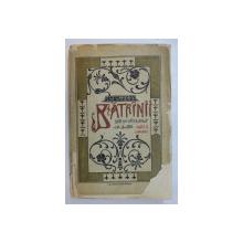 BATRANII  - SCHITE DIN VIATA BOIERILOR MOLDOVENI de EM. GARLEANU , coperta de A. SATMARY  , EDITIA A II - A , 1909