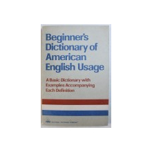 BEGINNER'S DICTIONARY OF AMERICAN ENGLISH USAGE by P. H. COLLIN ... CAROL WEILAND , 1994