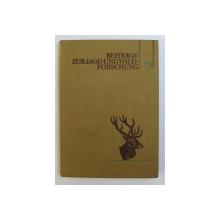 BEITRAGE ZUR JAGDUND WILDFORSCHUNG XIII von HANS STUBBE , 1948