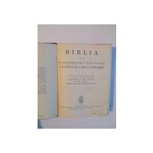 BIBLIA, ADICA DUMNEZEIASCA SCRIPTURA A VECHIULUI SI NOULUI TESTAMENT  EDITATA  DE GALA GALACTION - BUC. 1938