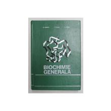 BIOCHIMIE GENERALA CU ELEMENTE DE BIOCHIMIE COMPARATA de I.F. DUMITRU, S. MAGER, 1973