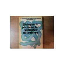 BIOINGINERIA PREPARATELOR ENZIMATICE MICROBIENE  de G. ZARNEA , GH. MENCINICOPSCHI, ST. BRAGAREA