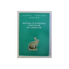 BIOLOGIA SI PATOLOGIA ANIMALELOR DE LABORATOR de NICOLAE DOJANA , MANUELLA MILITARU , DUMITRU MILITARU , 1997