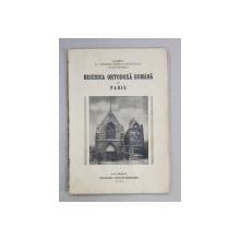BISERICA ORTODOXA DIN PARIS - BUCURESTI, 1941
