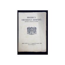 BISERICA ORTODOXA ROMANA  - REVISTA SFANTULUI SINOD , ANUL LXLVI , NO . 1 - 2   ,IAN. - FEBR. 1948