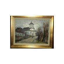Biserica satului, semnat indescifrabil