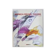 BISTRITA / ORASUL INEFABIL / EXPOZITIE COLECTIVA , GALERIILE ARCADE , EDITIE IN ROMANA SI ENGLEZA , 2008