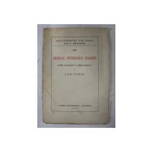 BOGDAN PETRICEICU HASDEU  - SCHITA BIOGRAFICA SI BIBLIOGRAFICA de LIVIU MARIN , 1928