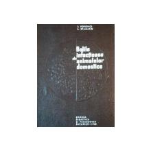 BOLILE INFECTIOASE ALE ANIMALELOR DOMESTICE de I. POPOVICI SI L. STAMTIN, BUC. 1968