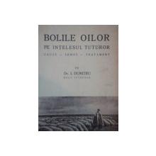 BOLILE OILOR PE INTELESUL TUTUROR, CAUZE, SEMNE, TRATAMENT de DR. I. DUMITRU medic veterinar