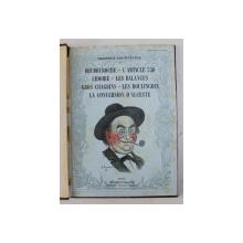 BOUBOUROCHE / L 'ARTICLE 330 / LIDOIRE / LES BALANCES ...LA CONVERSION D 'ALCESTE par GEORGES COURTELINE , THEATRE , iilustrations d 'apres les dessins de BARRERE , 1911
