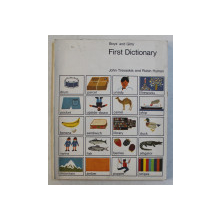 BOYS ' AND GIRLS ' FIRST DICTIONARY by JOHN TREVASKIS and ROBIN HYMAN , 1972