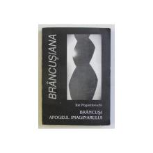 BRANCUSI - APOGEUL IMAGINARULUI de ION POGORILOVSCHI , 2000 DEDICATIE*