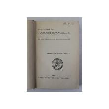 BRIEFE UBER DAS JOHANNESEEVANGELIUM - MIT EINE UBERSETZUNG DES JOHANNESEVANGELIUMS von FRIEDRICHE RITTELMEYER , 1938