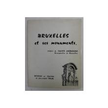 BRUXELLES ET SES MONUMENTS , dessins et textes par JEAN - MICHEL POLAK , 1967
