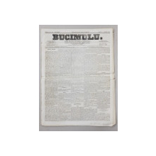 BUCIMULU - DIARIU POLITICU LITTERARIU SI COMMERCIALU , PROPRIETAR CEZAR BOLLIAC , ANUL II , NR. 206 , SAMBATA , 14 / 26 MARTIE 1864