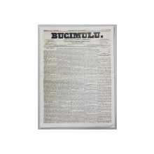 BUCIMULU - DIARIU POLITICU LITTERARIU SI COMMERCIALU , PROPRIETAR CEZAR BOLLIAC , ANUL II , NR. 213  , JOI 2 / 14 APRILIE  1864