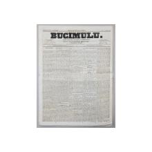 BUCIMULU - DIARIU POLITICU LITTERARIU SI COMMERCIALU , PROPRIETAR CEZAR BOLLIAC , ANUL II , NR. 216 , JOI 9 / 21 APRILIE  1864