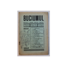 BUCIUMUL  - REVISTA LUNARA PENTRU TINERET , ANUL I , NO . 3 , NOEMBRIE  , 1936