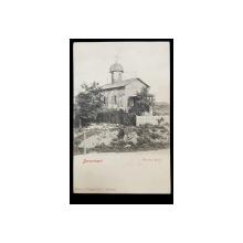 Bucuresci, Biserica Bucur - Carte postala clasica