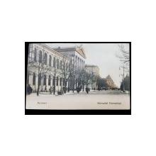 Bucuresci, Bulevardul Universitatii - Carte postala clasica