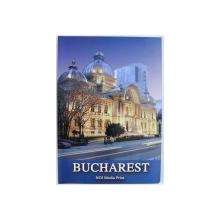 BUCURESTI / BUCHAREST , ALBUM ILUSTRAT , text RADU ANTON ROMAN , foto DAN IOAN DINESCU , MIRCEA SAVU , EDITIE BILINGVA ROMANA - ENGLEZA ,   2001