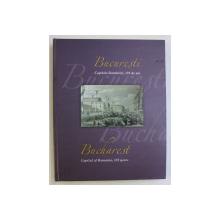 BUCURESTI CAPITALA ROMANIEI , 155 DE ANI , EDITIE BILINGVA ROMANA - ENGLEZA , ALBUM FILATELIC ILUSTRAT ,  2017 , LIPSA TIMBRE*