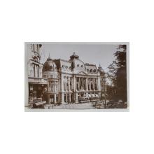 BUCURESTI , CLADIREA FUNDATIILOR REGALE CAROL I , CARTE POSTALA ILUSTRATA , 1929