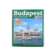 BUDAPEST AND SZENTENDRE  - WALKS IN THE CITY - AN EXCURSION TO SZENTENDRE  - WITH 120 COLOUR PHOTOGRAPHS , by PETER BUZA , 2002
