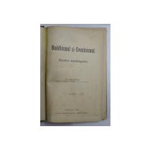 BUDDHISMUL SI CRESTINISMUL-STUDIU APOLOGETIC-VASILE GAINA- CERNAUTI 1906