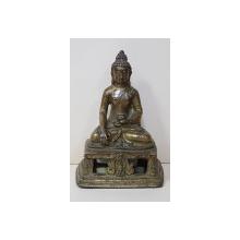 Budha din bronz, sec. 19