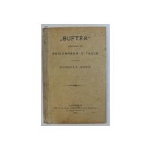 ' BUFTEA ' - SOCIETATE DE ASIGURAREA VITELOR IN CAZ DE ACCIDENTE SI MOARTE , STATUT , 1905