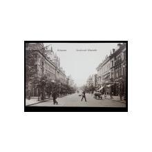 Bukarest. Boulevard Elisabeth - Carte postala ilustrata