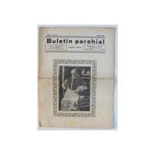 BULETIN PAROHIAL , APARE LUNAR , ANUL IV , NO . 6  , IUNIE 1937