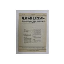 BULETINUL ASCOIATIEI GENERALE A INGINERILOR DIN ROMANIA - A.G.I.R. , ANUL XXI , NR. 3 , MARTIE 1939