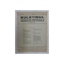 BULETINUL ASCOIATIEI GENERALE A INGINERILOR DIN ROMANIA - A.G.I.R. , ANUL XXII , NR. 5 , MAI 1940