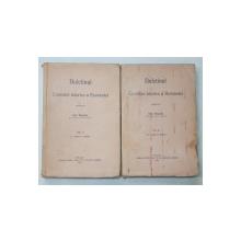 BULETINUL COMISIEI ISTORICE A ROMANIEI , publicat de IOAN BOGDAN , VOLUMELE I - II , 1915 - 1916 , VOLUMUL II CU PETE *