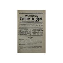 BULETINUL CURTILOR DE APEL , REVISTA DE DREPT , ANUL VII , COLEGAT DE 20 DE NUMERE SUCCESIVE APARUTE INTRE 1 IANUARIE SI 15 DECEMBRIE 1930