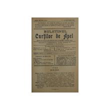 BULETINUL CURTILOR DE APEL , REVISTA DE DREPT , ANUL XIII , COLEGAT DE 20 DE NUMERE SUCCESIVE APARUTE INTRE 1 IANUARIE SI 15 DECEMBRIE 1936