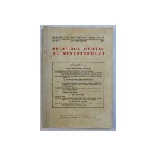 BULETINUL OFICIAL AL MINISTERULUI , NO. 2 - 3 , IANUARIE - MARTIE , 1940