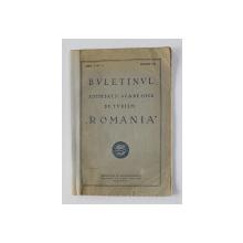 BULETINUL SOCIETATII ACADEMICE DE TURISM ' ROMANIA ' , ANUL V , NR. 8 , AUGUST 1931 ,  COTORUL INTARIT CU BANDA ADEZIVA *